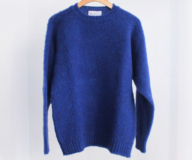 Shaggy Dog Crew Neck Sweater (Ocean Force)
